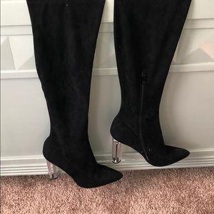 Shoes - Perplex thigh high heels